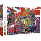 Пазл Trefl 1000 деталей Цвета Лондона