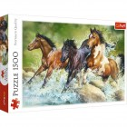 Пазл Trefl 1500 деталей Три дикие лошади