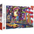 Пазл Trefl 1000 деталей Цвета Нью-Йорка