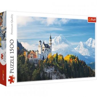 Пазл Trefl 1500 деталей Баварские Альпы. Германия