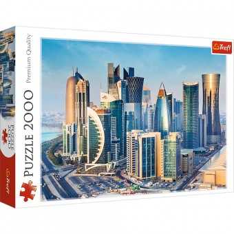 Пазл Trefl 2000 деталей Доха. Катар