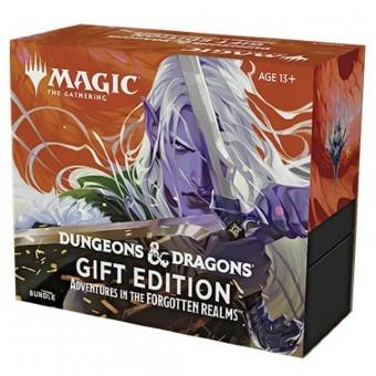 MTG. 2021. Приключения в Забытых Королевствах / Advenrutes in the Forgotten Realms. Подарочный набор Bundle Bundle Gift Edition