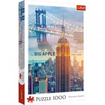 Пазл Trefl 1000 деталей Нью-Йорк на рассвете
