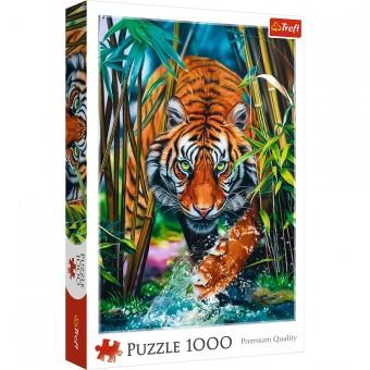 Пазл Trefl 1000 деталей Хищный тигр