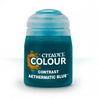 Баночка с краской Contrast: Aethermatic Blue / Эфироматический Голубой (18 мл.)