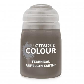 Баночка с краской Technical: Agrellan Earth / Агреллан Земля (24 мл.)