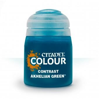Баночка с краской Contrast: Akhelian Green / Ахельский Зеленый (18 мл.)