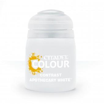 Баночка с краской Contrast: Apotecary White / Белый Апотекарий (18 мл.)