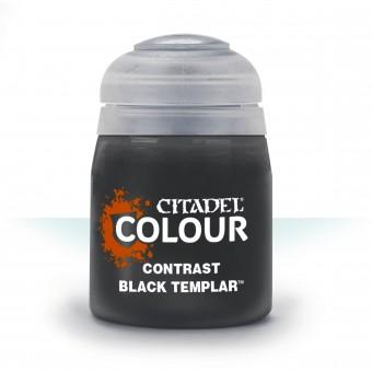 Баночка с краской Contrast: Black Templar / Черный Темплар (18 мл.)