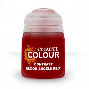 Баночка с краской Contrast: Blood Angels Red / Красный Кровавых Ангелов (18 мл.)