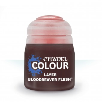 Баночка с краской Layer: Bloodreaver Flesh / Плоть Кровавых Пожирателей (12 мл.)
