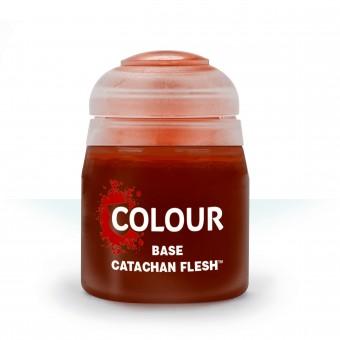 Баночка с краской Base: Catachan Fleshtone / Катачан Тон Плоти (12 мл.)