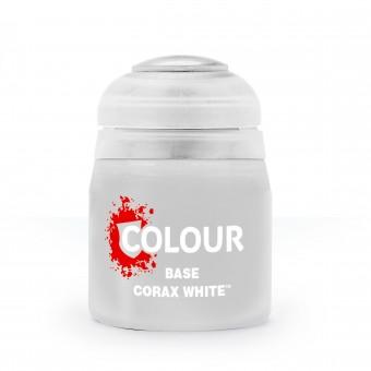 Баночка с краской Base: Corax White / Коракс Белый (12 мл.)