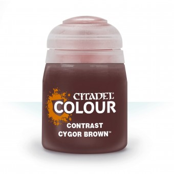 Баночка с краской Contrast: Cygor Brown / Кигор Коричневый (18 мл.)