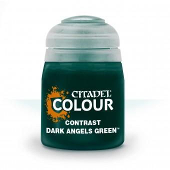 Баночка с краской Contrast: Dark Angels Green / Зеленый Темных Ангелов (18 мл.)