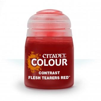 Баночка с краской Contrast: Flesh Tearers Red / Красный Раздирающих Плоть (18 мл.)