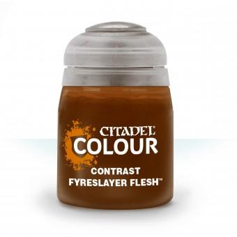 Баночка с краской Contrast: Fyreslayer Flesh / Плоть Фирсейеров (18 мл.)