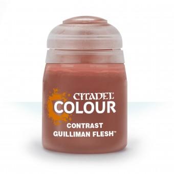 Баночка с краской Contrast: Guilliman Flesh / Плоть Жиллимана (18 мл.)
