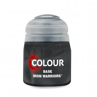 Баночка с краской Base: Iron Warriors / Железные Воины (12 мл.)