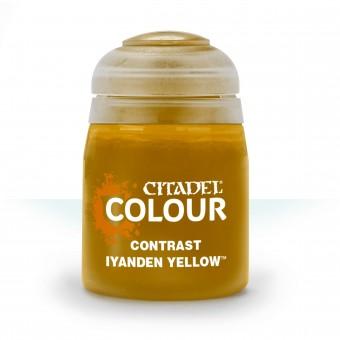 Баночка с краской Contrast: Iyanden Yellow / Йаден Желтый (18 мл.)