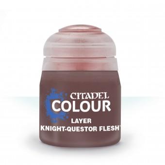 Баночка с краской Layer: Knight-Questor Flesh / Плоть Рыцаря-Квестора (12 мл.)