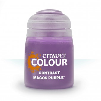 Баночка с краской Contrast: Magos Purple / Магос Пурпурный (18 мл.)