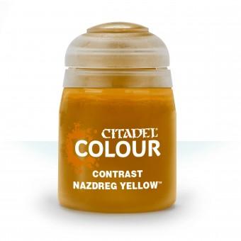 Баночка с краской Contrast: Nazdreg Yellow / Наздрег Желтый (18 мл.)
