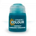 Баночка с краской Contrast: Terradon Turquoise / Террадон Бирюзовый (18 мл.)