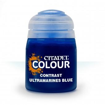 Баночка с краской Contrast: Ultramarines Blue / Голубой Ультрамаринов (18 мл.)