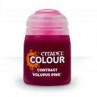 Баночка с краской Contrast: Volupus Pink / Волупус Розовый (18 мл.)