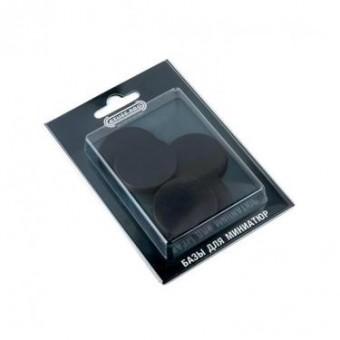 Круглые подставки для миниатюр Stuff Pro 40 мм х 5