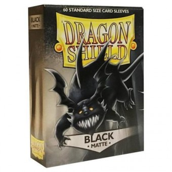 Протекторы Dragon Shield (62 х 89 мм., 60 шт.): black / черные матовые