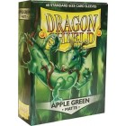 Протекторы Dragon Shield (66 х 91 мм., 60 шт.): Apple Green / Яблочные Зеленые матовые