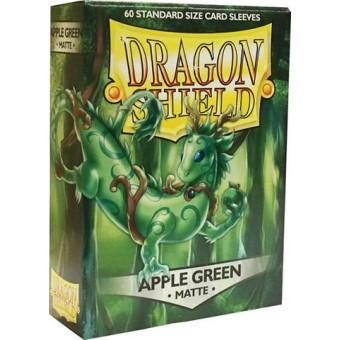 Протекторы Dragon Shield (62 х 89 мм., 60 шт.): яблочные зеленые матовые