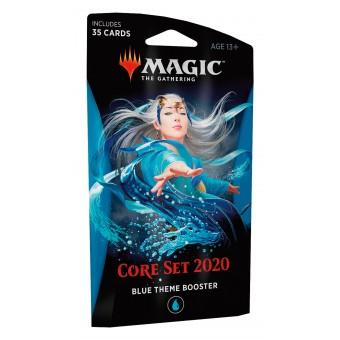 MTG. Базовый выпуск 2020. Blue Theme Booster на английском языке