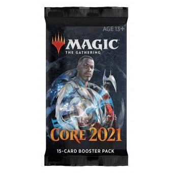 MTG. Базовый выпуск 2021 / Core 2021. Бустер на английском языке