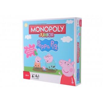 настольная игра Монополия Свинка Пеппа
