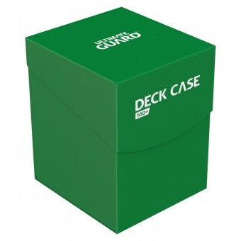 Коробочка Ultimate Guard (пластиковая, на 100+ карт): зеленая