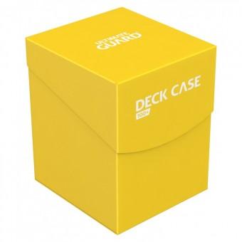 Коробочка Ultimate Guard (пластиковая, на 100+ карт): жёлтая