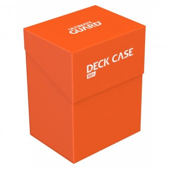Коробочка Ultimate Guard (пластиковая, на 80+ карт): оранжевая