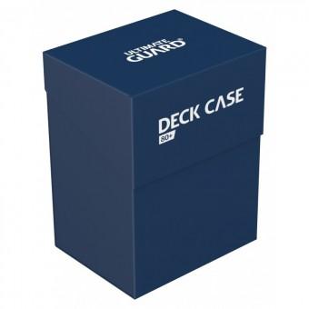 Коробочка Ultimate Guard (пластиковая, на 80+ карт): тёмно-синяя
