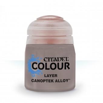 Баночка с краской Layer: Canoptek Alloy / Сплав Каноптек (12 мл.)