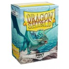 Протекторы Dragon Shield (66 х 91 мм., 100 шт.): Mint / Мятные матовые