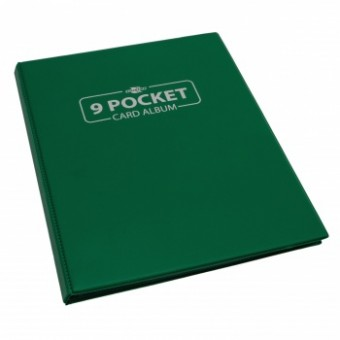 Альбом для карт BlackFire (на 180 карт, 3x3): зеленый