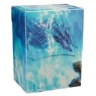 Коробочка Dragon Shield, пластиковая на 80+ карт (Baby Blue Bethia)