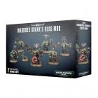 Orks Warboss Grukk's Boss Mob / Боевой босс орков Грукк и его банда