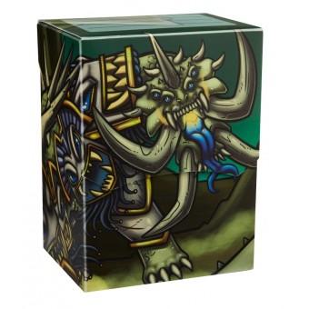 Коробочка Dragon Shield, пластиковая на 80+ карт (Ivory Opylae)