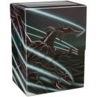 Коробочка Dragon Shield, пластиковая на 80+ карт (Jet Extanium)