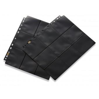 Лист для альбомов Dragon Shield Черный (3х3 кармашка на листе)