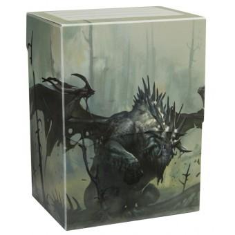 Коробочка Dragon Shield, пластиковая на 80+ карт (Mist Dashat)
